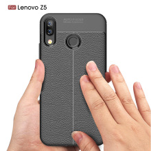 Carbon Fiber Case For Lenovo Z5 /  L78011 Soft Cover Phone Cases Coque Fundas Etui Capa