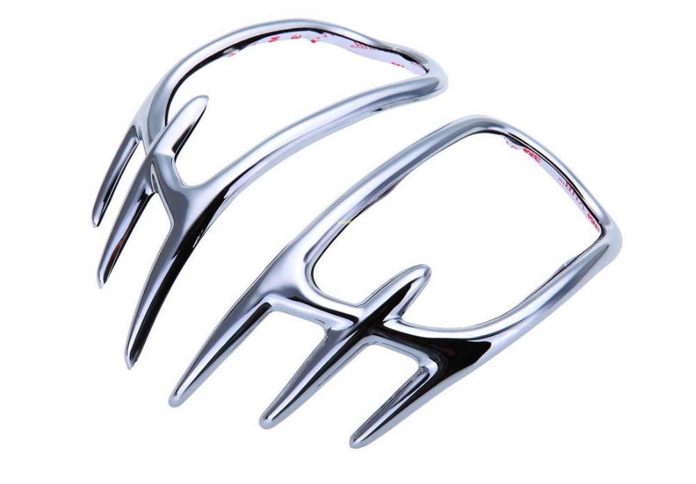 ФОТО 1 Set Chrome Fairing Mirror Back Accent Grilles For Honda Goldwing GL1800 2001-2011 10