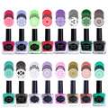BORN PRETTY Candy Colors Nail Art Stamping Polish Black Sweet Style Nail Stamp Plate Polish Image Print Manicure Polish 15ml 6ml