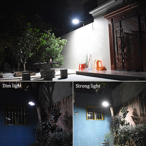 Image 5 - High Quality Power Outdoor IP65 1000 Lumen 81 Leds integrated solar street light Motion Sensor Solar Lamps