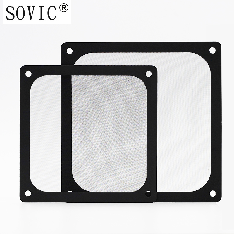 Image 3 - New hot 3PCS 140/120mm size Computer/PC Case Cooling Fan magnetic Dust Filter Dustproof Mesh fan Cover Net Guard 12cm/14cm-in Fans & Cooling from Computer & Office