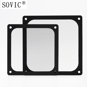 Image 3 - New hot 3PCS 140/120mm size Computer/PC Case Cooling Fan magnetic Dust Filter Dustproof Mesh fan Cover Net Guard 12cm/14cm