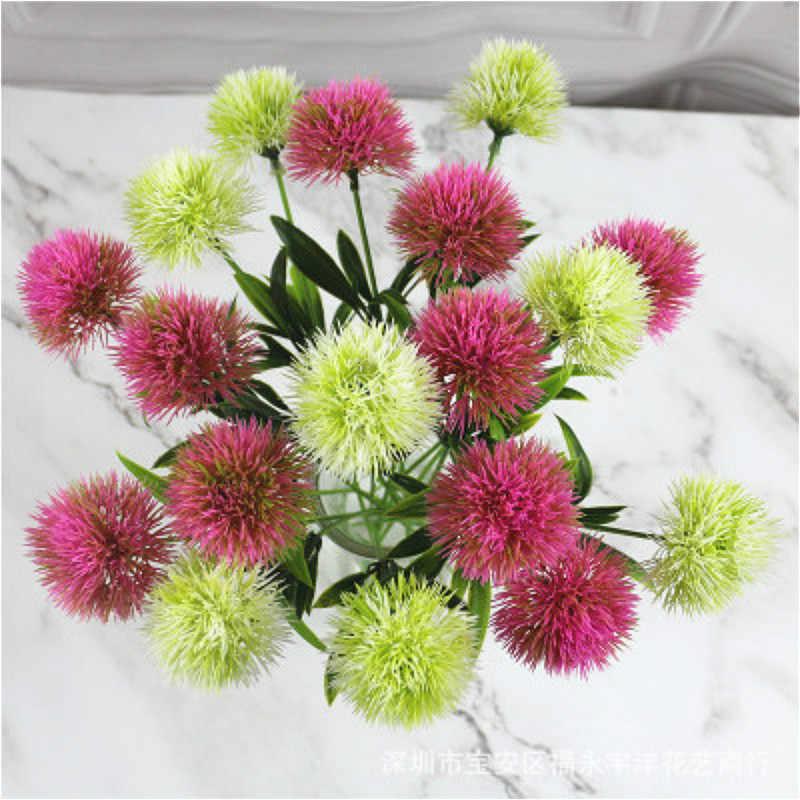 Planta de simulación de flores de diente de león Artificial de plástico de 1 pieza de BRIDAY, decoración del hogar, decoración para boda, Día de San Valentín, decoración para fiestas
