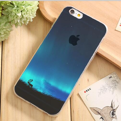 Soft TPU Back Cover Skin Cases For iPhone 4 4S Case For iPhone 7 7Plus Shell Free shipping 2017 Newest Hot Popular Best Gift