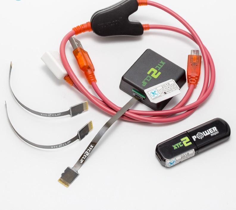 Unlock tool van xtc2 clip voor HTC met XTC2 Power Adapter en Y kabel XTC clip 2 doos met kabel - 5