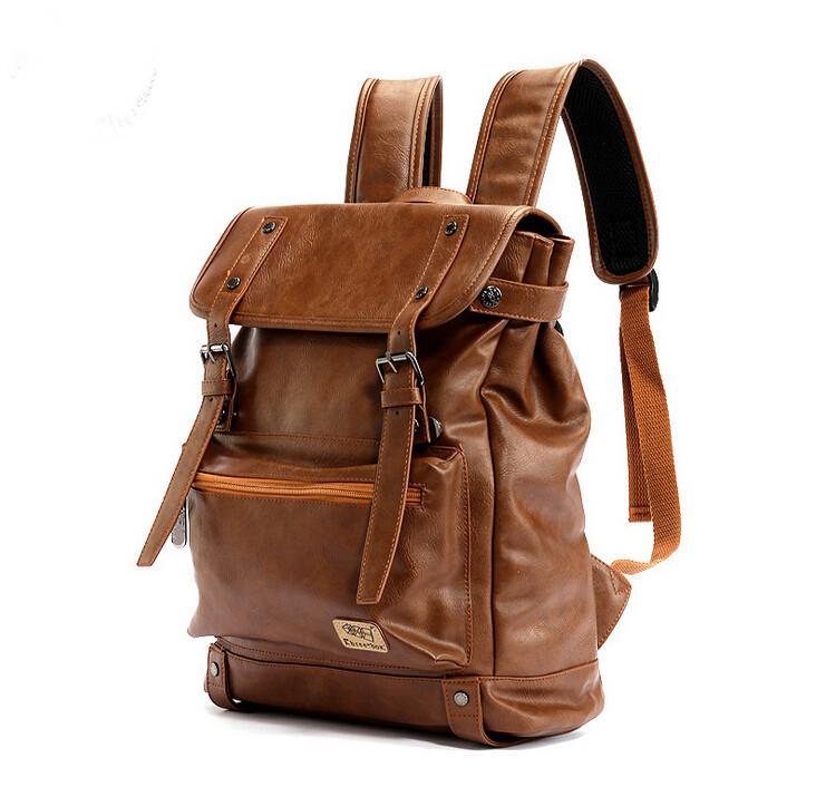 ETN BAG good quality hot sale best seller men PU Leather backpack ...