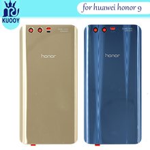 For Huawei Honor 9 Back Glass Battery Cover Rear Door Housing Case Panel For Huawei Honor 9 Back Glass Cover Replacement back glass for huawei honor 8 glass back cover housing battery cover case for honor8 back glass replacement parts