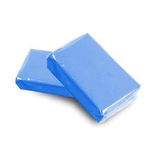 Автомойка синяя Автомобильная глиняная панель автодетализация Волшебная глиняная панель очиститель автомобильные аксессуары повторное использование ржавчины масляного загрязнения Автоматическая Мойка
