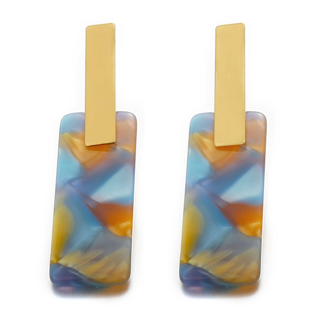 IF ME 4 Colors Camouflage Colorful Square Dangle Earrings for Women Acrylic Bar Geometric Drop Earrings.jpg 640x640 - IF ME 4 Colors Camouflage Colorful Square Dangle Earrings for Women Acrylic Bar Geometric Drop Earrings Statement Jewelry New
