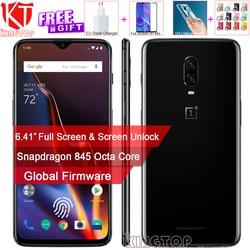 Original Oneplus 6T Mobile Phone 6/8GB RAM 128/256GB ROM Snapdragon 845 Octa Core 6.41