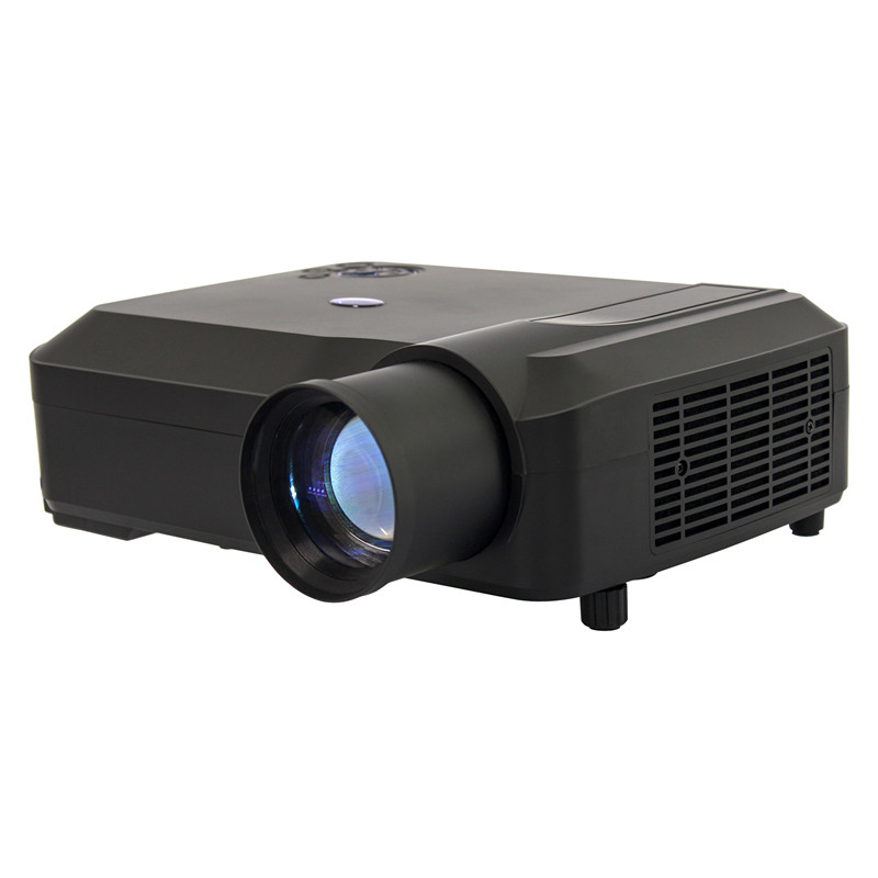 Factory Direct HDTV 1280*800 Projector Home Theater Multimedia 200Inch Big Screen LCD Projector With 2*USB 3*HDMI Drop Shipping