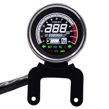 WUPP 12V Motorcycle Replacement LCD Light Digital Speedometer Tachometer Odometer digital level Temp Fuel  Gauge oil 12RPM lcd digital dashboard motocross tachometer gauge speedometer of racing motorcycle replacement refit sensor c0024 car styling