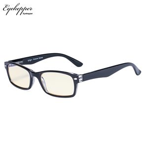 Image 1 - CG055 SpringHinges UV Protection, Anti Glare Anti Blue Rays,Scratch Resistant Lens Yellow Tinted Lenses Computer Reading Glasses