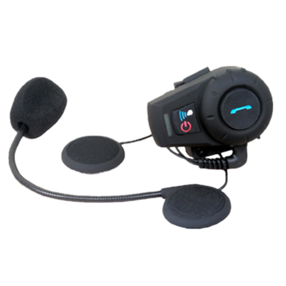FDC-01VB Motorcycle Helmet Bluetooth Intercom Headset Support Music Hands-free Calling Freedconn