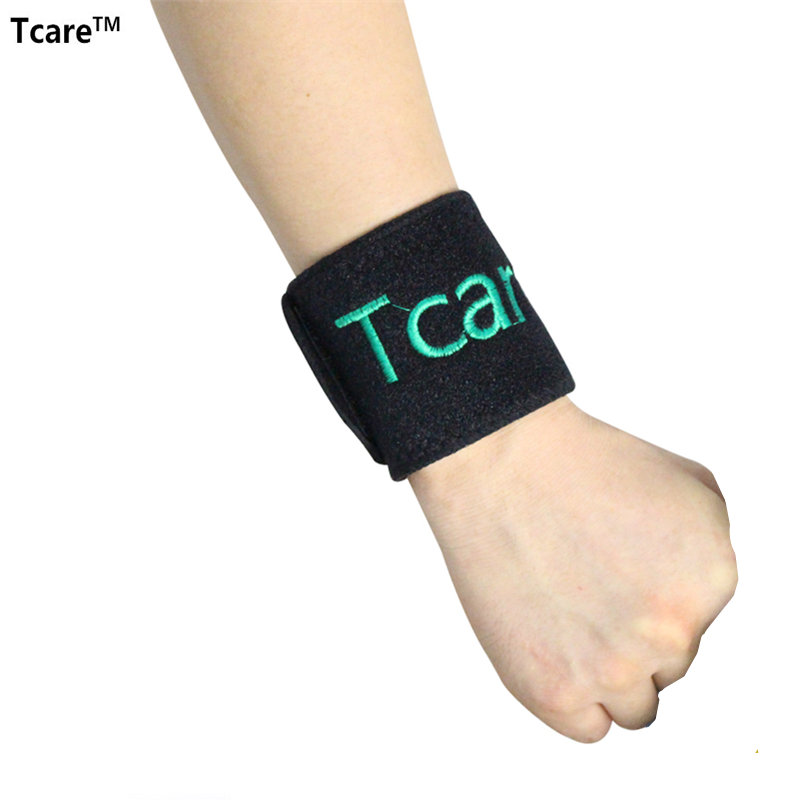 1 Pair Tourmaline Self-Heating Wrist Brace Band Support Far Infrared Magnetic Therapy Wrist Pads Health Products