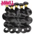 Малайзии волна девственница теле человеческих волос соткет 10 связки дешевые 6а малайзии волна девственница теле Vip красоты для волос