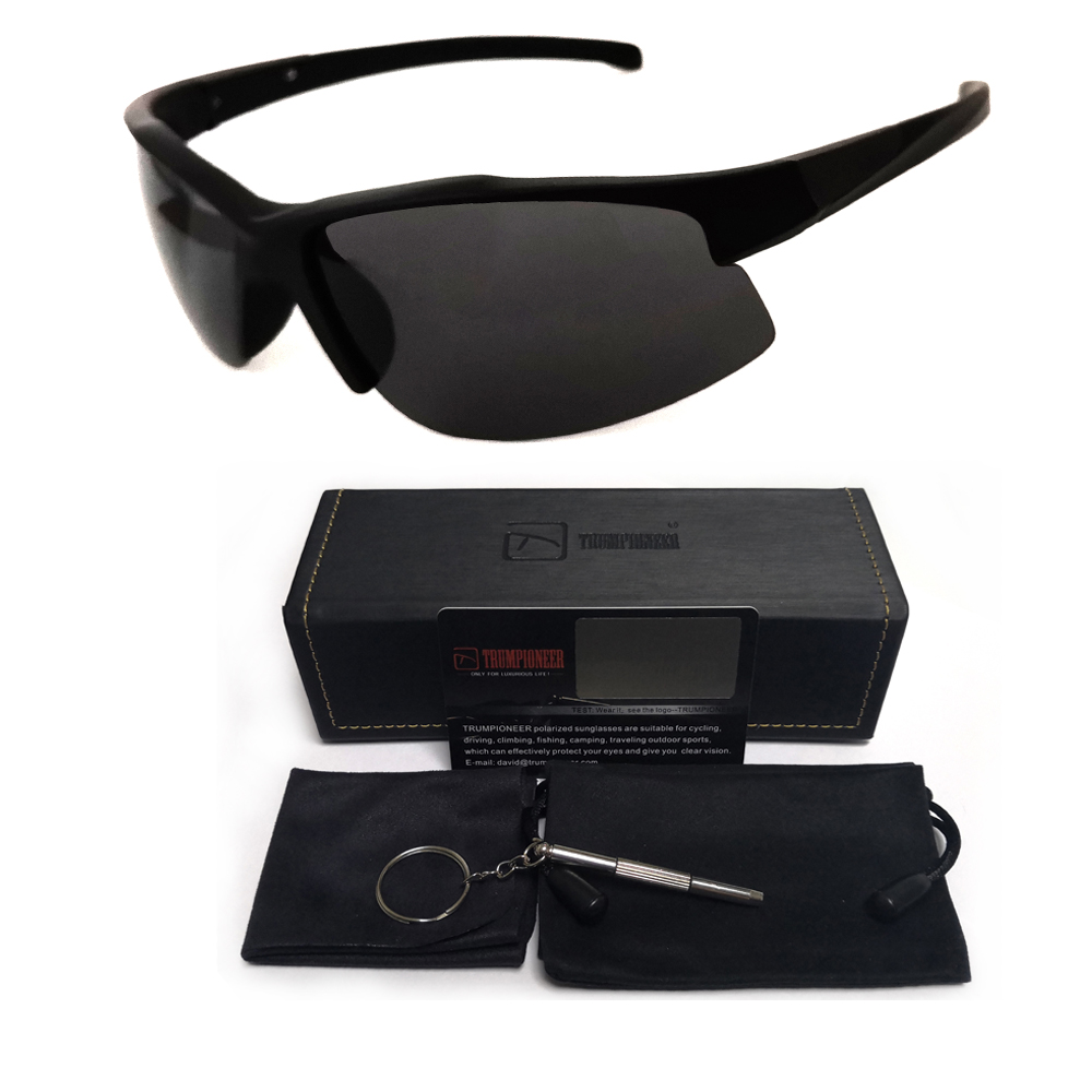 New Polarized Fishing Sunglasses Mens Outdoor Eyewear Antifog Driving Glasses UV400 Polarizing Lenses