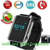 2018 GPS Tracker Watch for Elderly Kids WiFi LBS GPS Realtime Tracking Large Screen 2 Way Calls SOS Alert Waterproof Wristwatch