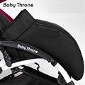 BABYTHRONE calcetines cubierta del pie cochecito de bebé saco de invierno a prueba de viento térmico suave y cómodo cochecito saco