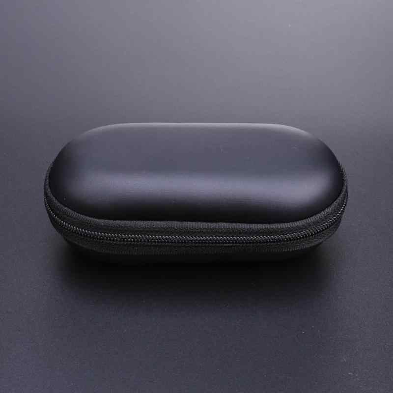 Draagbare Elliptische EVA Opslag Gevallen Hoofdtelefoon box voor Cellphone In-Ear Oortelefoon USB Lader Kabels Hoofdtelefoon Mp3 Mp4 Toetsen