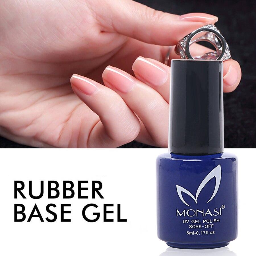 VERSUCHEN NAGEL Klar UV Primer Transparent Gummi Basis Mantel Dicker ...