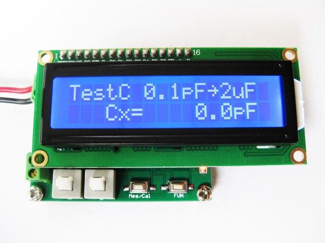 Compteur d'inductance de capacité multifonction LC Table petit affichage numérique LC mètre