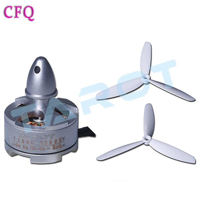 (CFQ)Quadcopter kit mini helicopter motor Qav250 frame Tarot 1806 brushless quadcopter motor Rc brushless motor outrunner Himoto