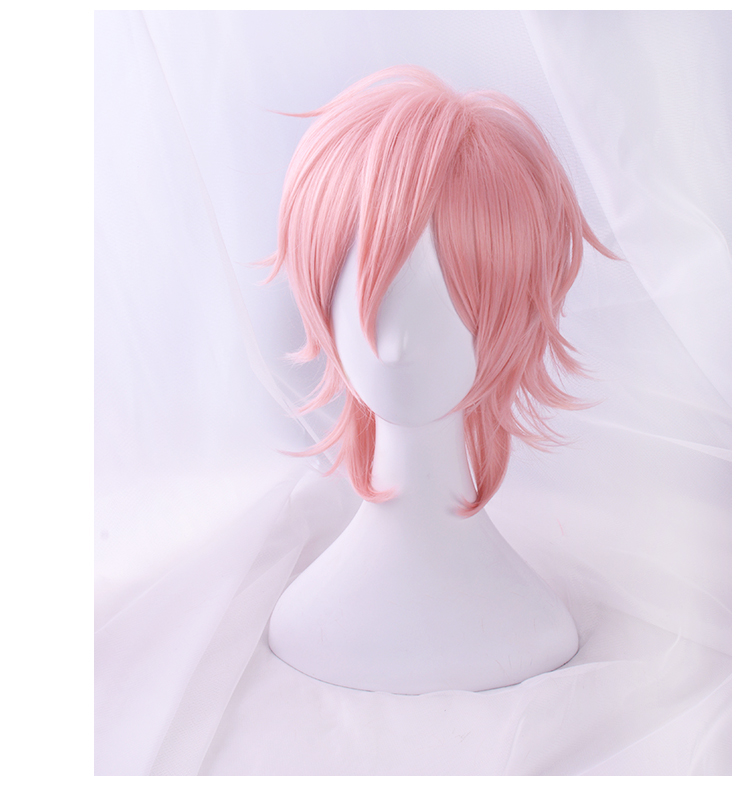 Image 3 - 2018 Anime Cosplay Yarichin Bitch Bu Club Ayato Yuri Pink Wig Cosplay Halloween  Role Playing-in Anime Costumes from Novelty & Special Use
