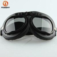 POSSBAY الأسود نظارات للدراجات النارية ل هارلي أنماط نظارات oculos موتوكروس نظارات نظارات شمسية خوذة الدراجة الجبلية-في نظارات للدراجات النارية من السيارات والدراجات النارية على