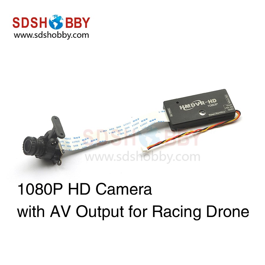 HMDVR-HD 1080P HD DVR Camera AV Output Low Latency for Racing Drone FPV hd