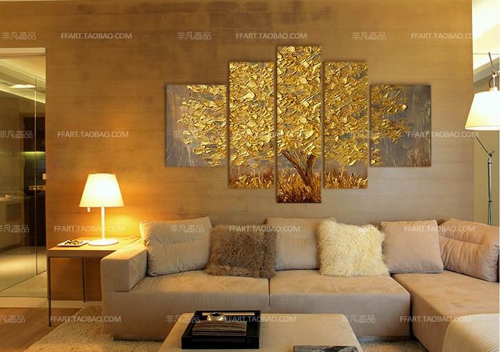 Aliexpress Com Buy New Paintings Golden Money Tree Home Decor