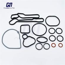 Высококачественные комплекты для ремонта масляного охладителя двигателя прокладки для Cruze Opel Orlando Astra 93186324 55353322 55353320 55355603 15-5151