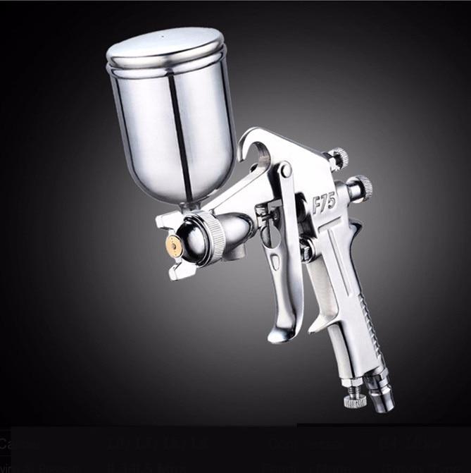 Chaude Pour Professionnel Pneumatique Pistolet 400 ML Airbrush Pulvérisateur Alliage Peinture Atomiseur Outil Avec Trémie Pour La Peinture De Voiture