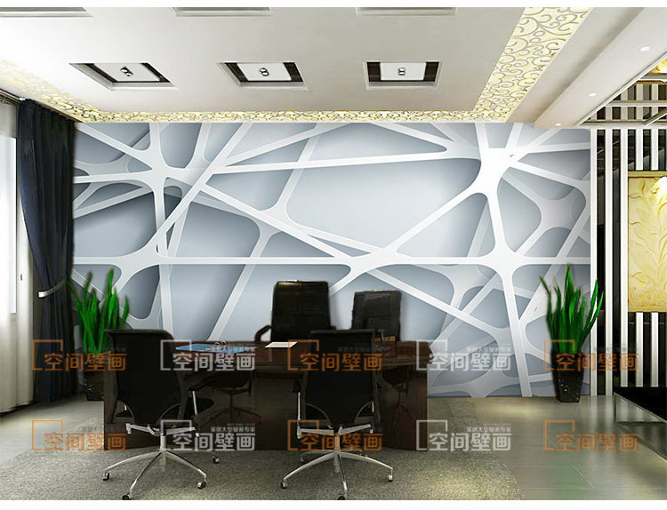 3d stereoscopic wallpaper mesh paper cut large creative for Big wallpaper for wall