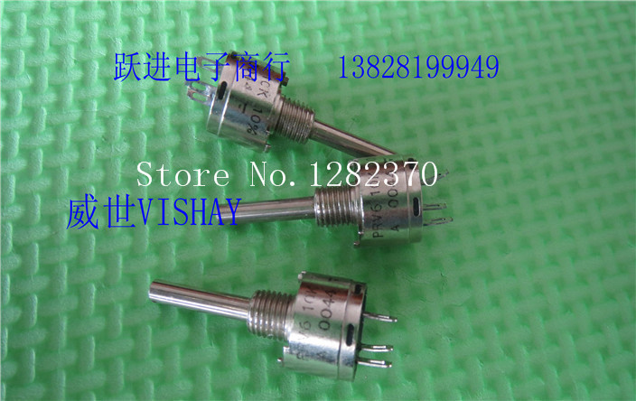 [BELLA] PRV6 10K 10% VISHAY Vishay - Sfernice ceramic pot handle length 22MMX3 new  --3PCS/LOT[BELLA] PRV6 10K 10% VISHAY Vishay - Sfernice ceramic pot handle length 22MMX3 new  --3PCS/LOT