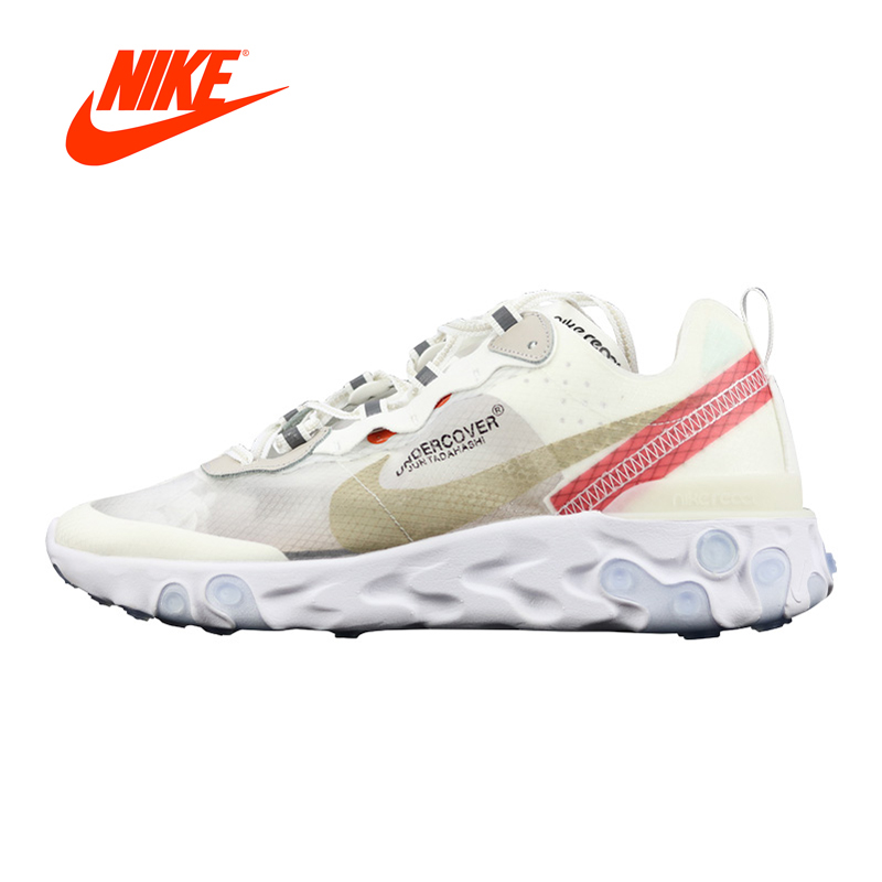 Original New Arrival Authentic Nike Epic React Element 87 Men's Running Shoes Sport Outdoor Sneakers Good Quality AQ1813-339