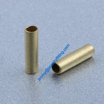 Copper Tube Conntctors Tubes jewelry findings 2*7mm ship free 10000pcs copper tube Spacer beads