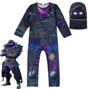 New Skull Trooper Flytrap Merry Marauder Raven Skin Boys Cosplay Clothes  Halloween Costumes Funny Clothing thanksgiving outfits d8544a5f0