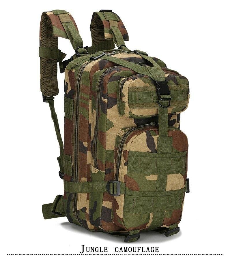 2d5cd9242 Contenido Del paquete 1x3 P Táctico Militar Mochila Oxford Bolsa de Deporte  30L para Acampar Viajar Senderismo Trekking