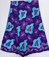 (5 m/lot) APCF10036, nowy projekt dość haftowane Afryki bawełniane koronki tkaniny Szwajcarski woal koronki tkaniny najwyższej jakości