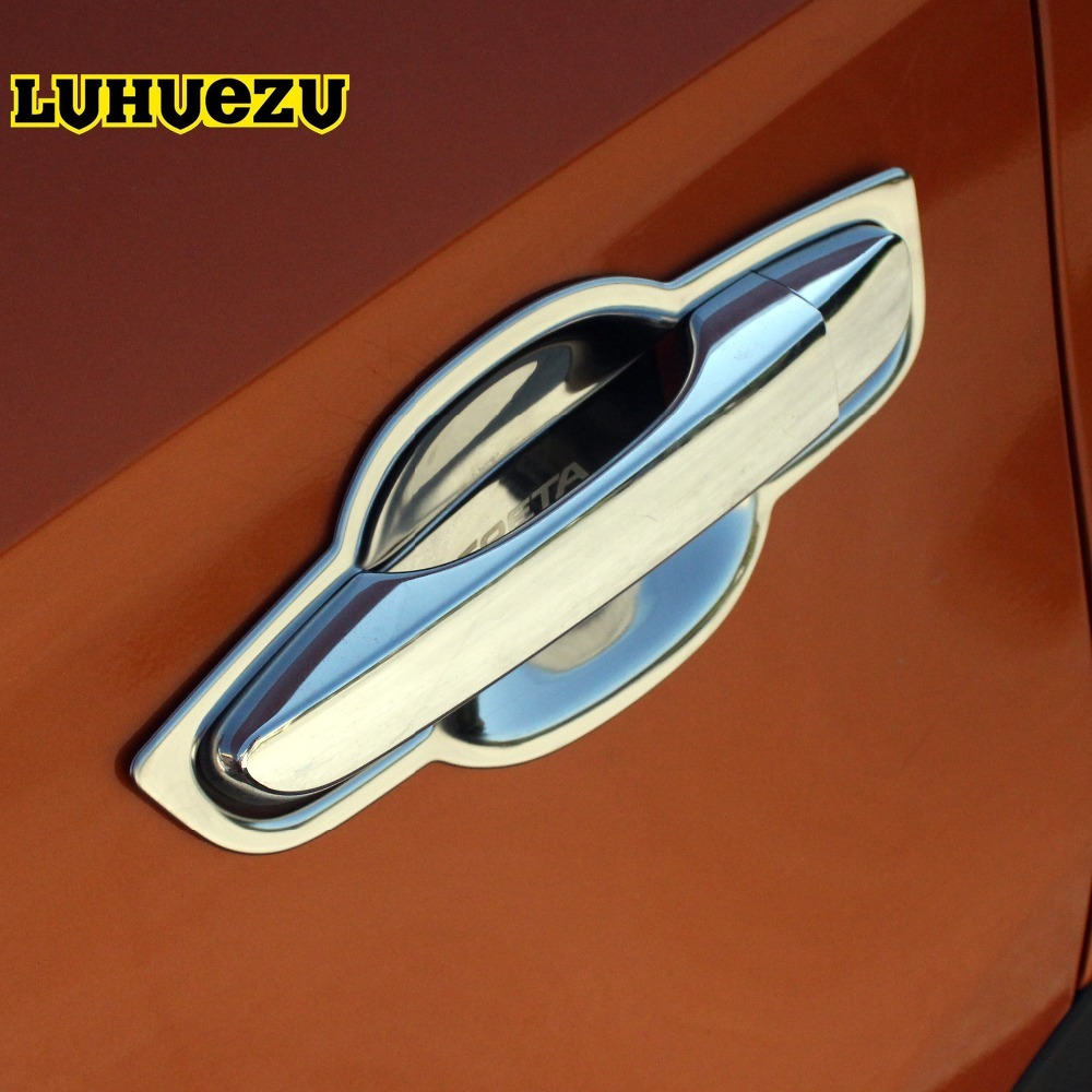 New Arrival Stainless Steel Car Door Handle Bowel Cover Protection trim For Hyundai IX25 Creta 2015 2016 2017 2018 Accessories supra sfd 1011 dcu