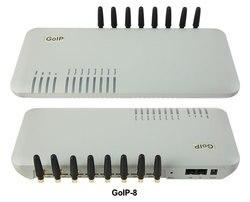 GoIP 8 porte gsm gateway/voip sip gateway/IP GSM Gateway/GoIP8 VoIP GSM Gateway supporto SIP /H.323-Promozione delle vendite