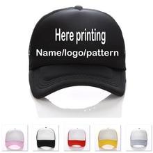 c7548a9fafb Retail Adult Sun Hats Curved Visor Printing Name letters Kids Baseball Cap  Custom LOGO Hat