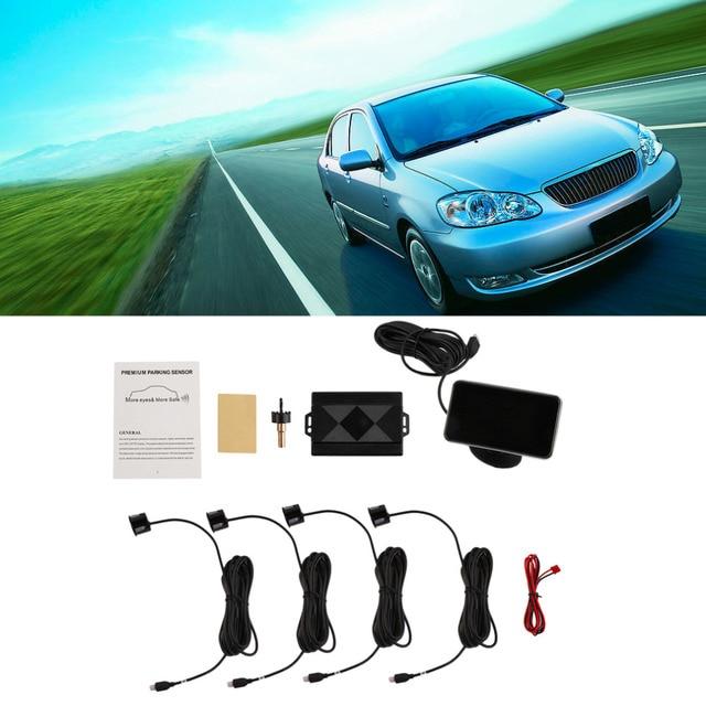 New Professional Sensors 4/Sensors Ny-2020 Electronics Cars Parking Assistance Reversing Radar Car Detector Parking Assistance