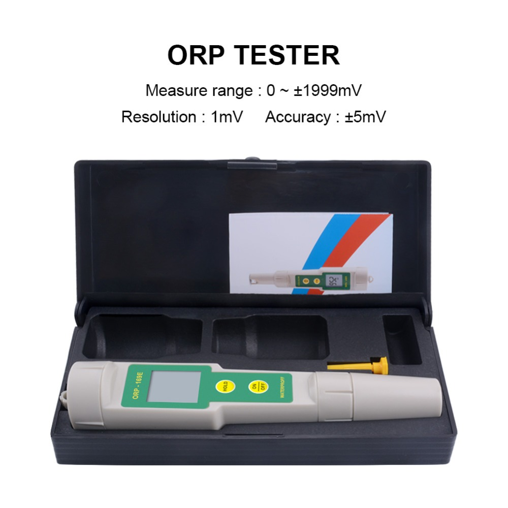 high quality 169E ORP/Redox Tester waterproof ORP meter,ORP tester with retail box