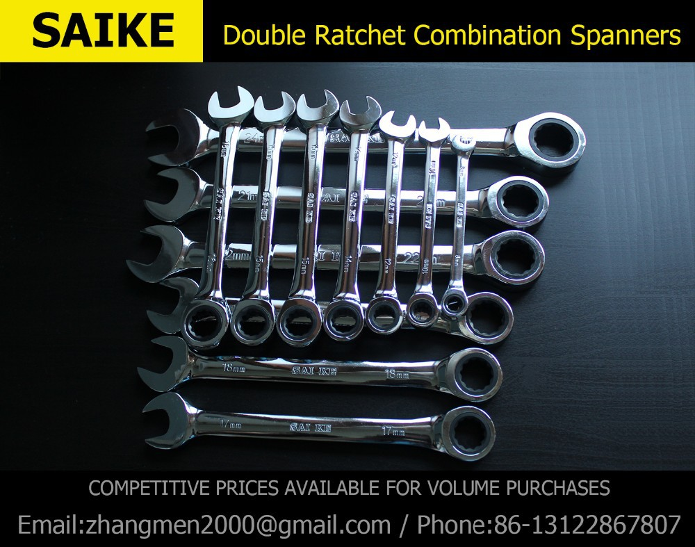 Image 4 - Ratcheting Combination Wrench  Set Hand Tools for Car Repair Torque and gear spanner and A Set of Key-in Wrench from Tools