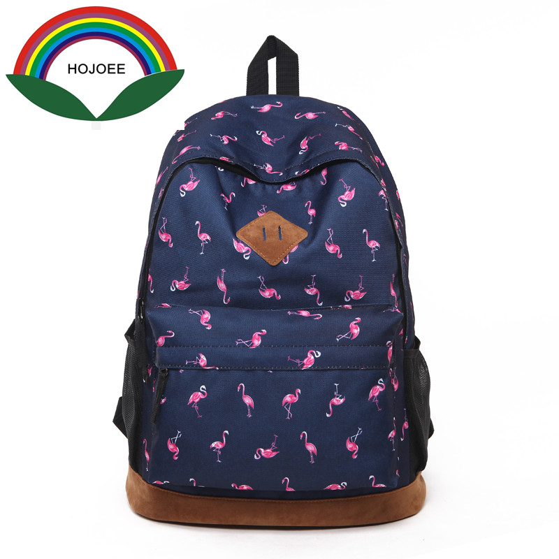 Original designer backpacks brand women bags 2018 new fashion flamingo printing backpack for teenage girls laptop school bags children school bag minecraft cartoon backpack pupils printing school bags hot game backpacks for boys and girls mochila escolar