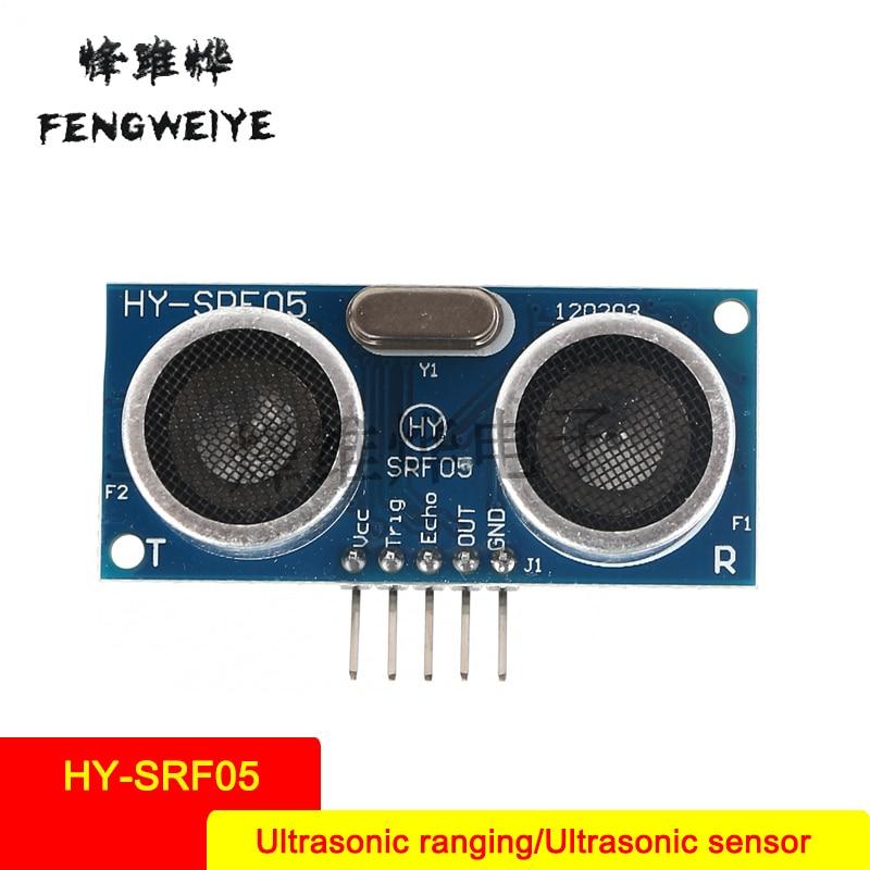 Panel HY SRF05 five pin ultrasonic module ultrasonic ranging module ultrasonic sensor send a full set