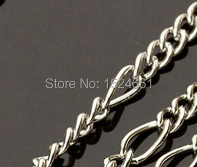 jewelry Jewelry Findings & Components Connectors 2.5MM5: 1 Picture chain (iron nickel color) * link fitting clasp chain