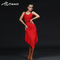 2016 New Summer clothes for Salsa Rumba Cha Cha flamengo Ballroomballroom dance skirt women modern dance Vestidos A317